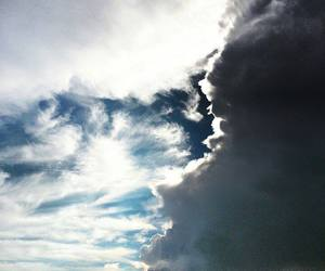 clouds, freedom, and nature image
