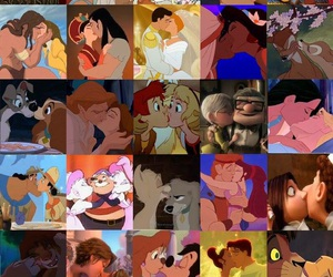 aladdin, ariel, and bacio image