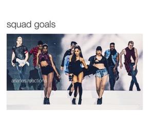 goals, squad, and ariana grande image