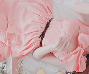 pink, kfashion, and fashion image