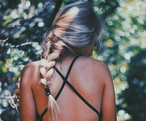 beauty, fashion, and blonde image
