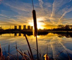 sunrise winter england image