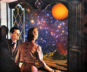 Collage, collage art, and galaxy image