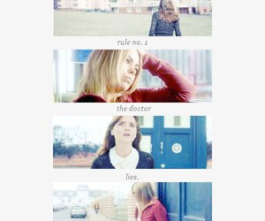 doctor who, rose tyler, and rules image