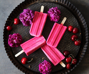 popsicle, sweet, and food image