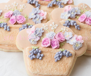 Cookies, Tuscany, and flowers image