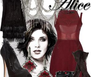 alice cullen, dress, and fashion image