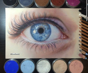 blue and eye image