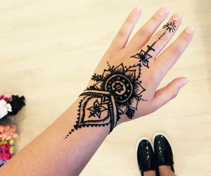 goals, henna, and hipster image
