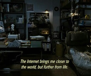 internet, quote, and life image