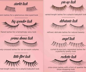 lashes, eyelashes, and makeup image