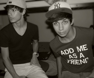 boy, Hot, and friends image