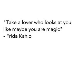 quote, lover, and magic image