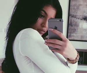 kylie jenner, white, and kylie image