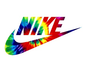 nike and tie dye image