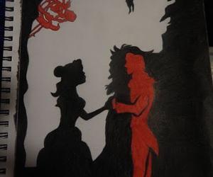 disney, drawings, and princess image