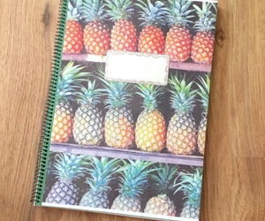 notebook and pineapple image