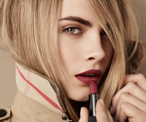 cara delevingne, model, and lipstick image
