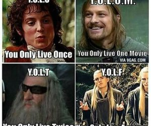 funny, gandalf, and Legolas image