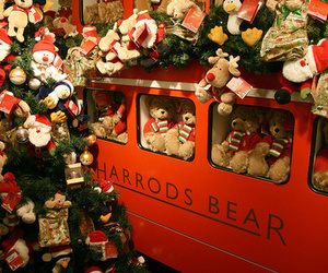 christmas, bears, and cute image