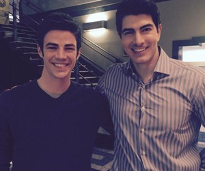 arrow, barry allen, and grant gustin image