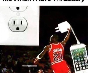 funny, battery, and Basketball image