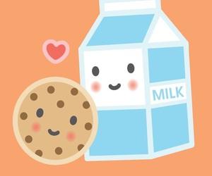 milk, love, and wallpaper image
