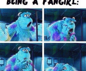fangirl and funny image