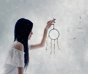 dream catcher, white, and cynthia lou image
