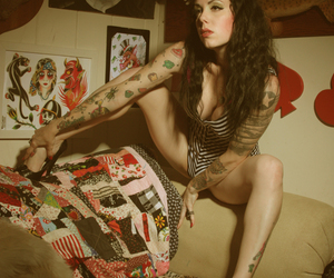 Pin Up, pinup, and rockabilly image