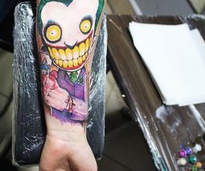 joker, tattoo, and like miami ink image