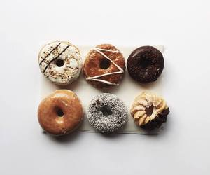 brown, delicious, and donut image