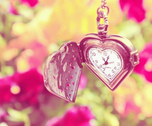 time love flowers image