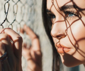 eyes, indie, and make up image