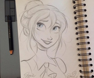 disney, jane, and draw image