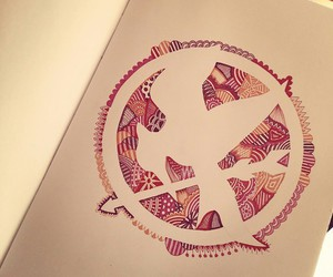 mockingjay, book, and katniss image