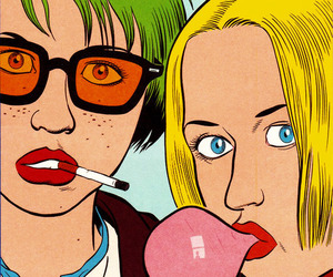 ghost world, grunge, and indie image