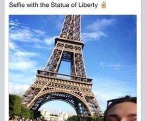funny, paris, and lol image