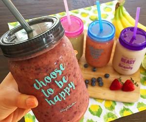 fruit, drink, and jar image
