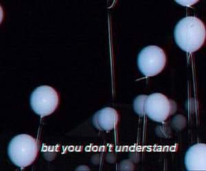 grunge, sad, and balloons image