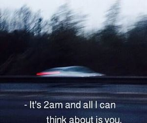 love, 2am, and car image