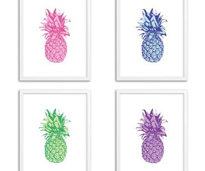 decorate, pineapple, and pretty image