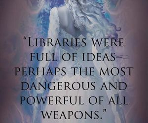 throne of glass, book, and quote image