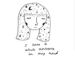 quotes, girl, and universe image