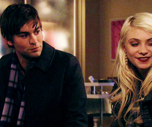 Chace Crawford, jenny humphrey, and nate archibald image