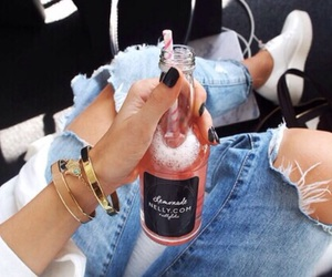 fashion, drink, and style image
