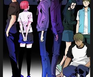 anime, manga, and dice image