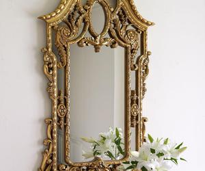 large mirror, big mirrors, and small decorative mirrors image