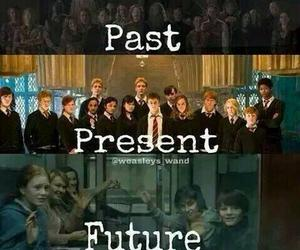 harry potter, past, and present image