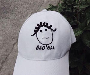 rihanna, bad gal, and hat image